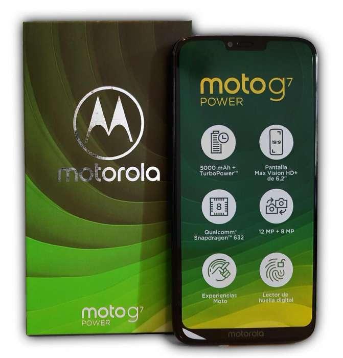 Motorola Moto G7 Power 64/4gb 4G LTE