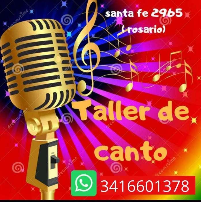 Taller de Canto!!