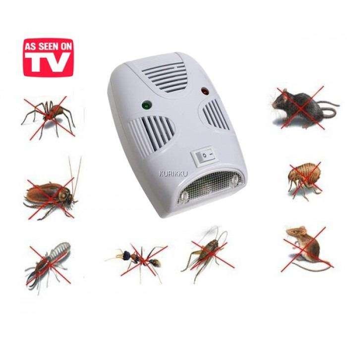 Ahuyentador Repelente de Ratas, Ratones, Moscas, Mosquitos y todo tipo de Plaga actua por Ultrasonido
