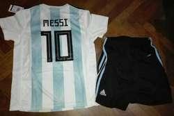 Conjunto Seleccion Argentina Adidas Niño