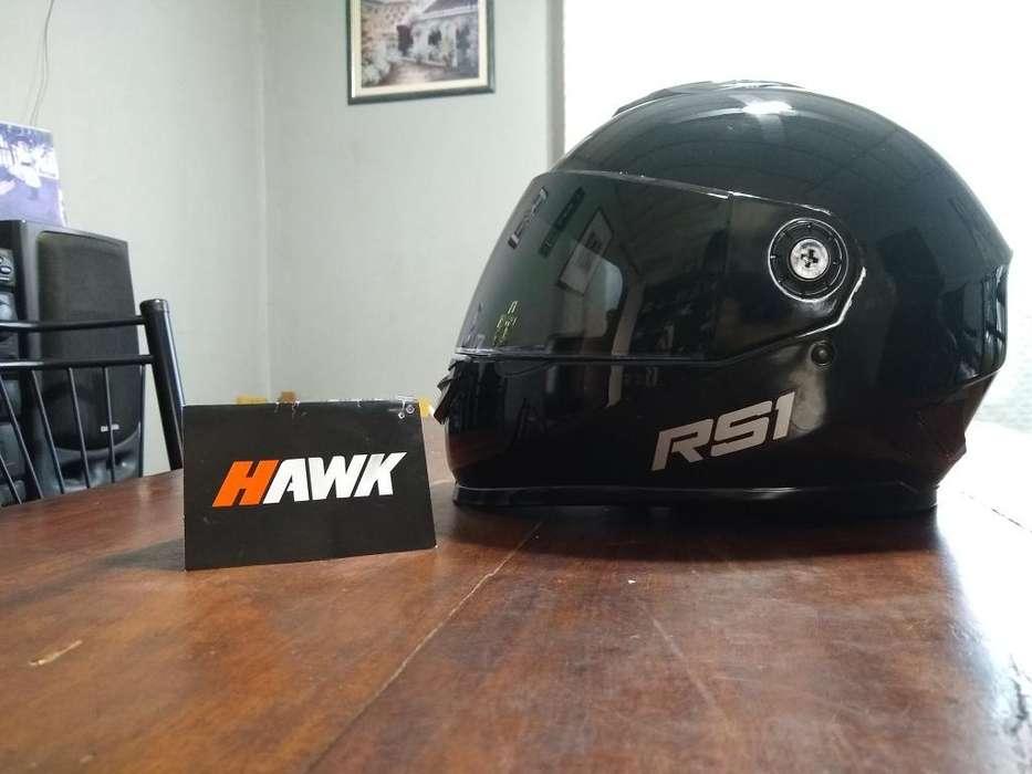 Vendo Casco Hawk Rs1