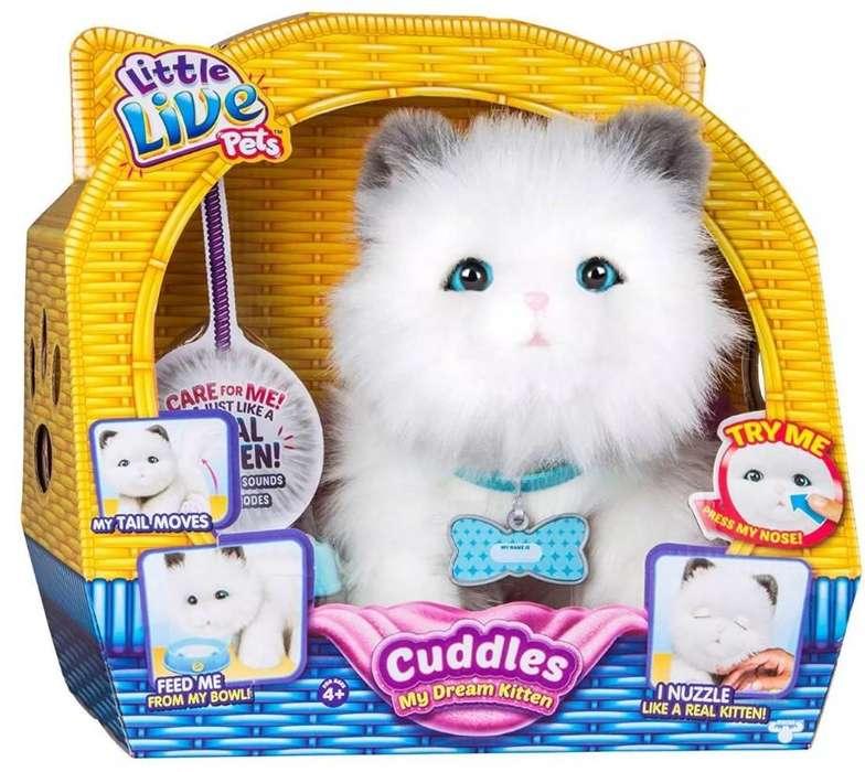 Gatito con Sonidos Dream Kitten Little Live Pets