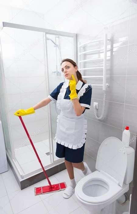 bco empleada limpieza 400 pesos casa una día a la semana zona san felipe