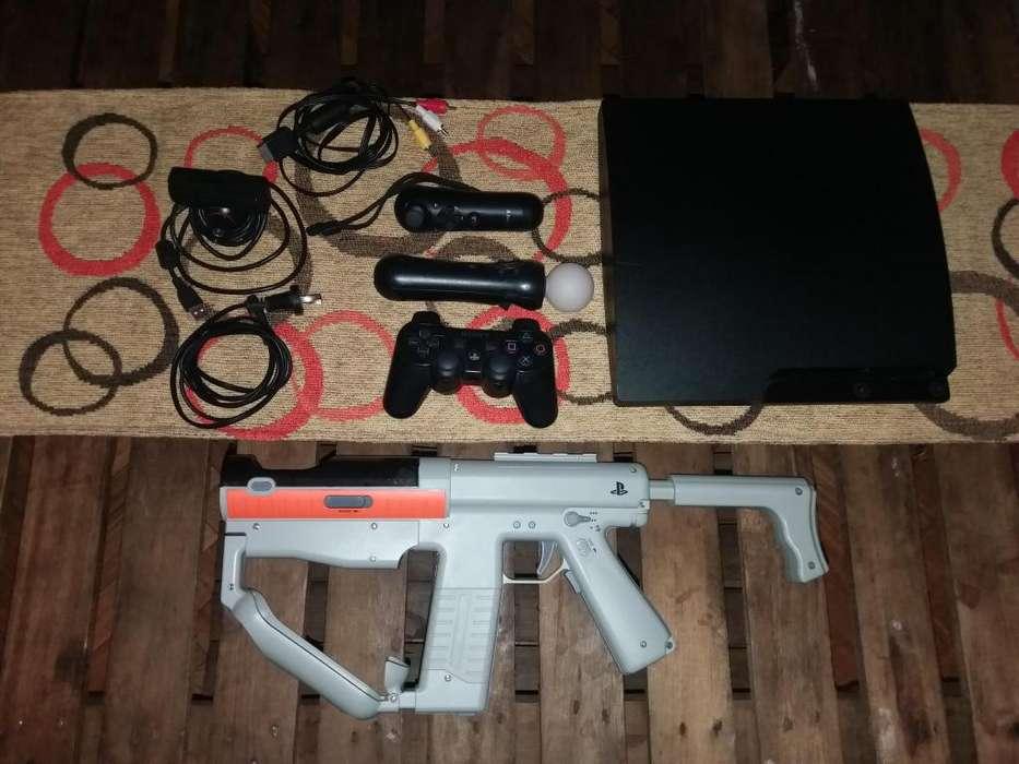 Play Station 3 con accesorios