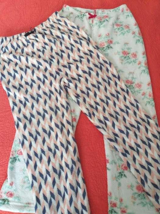 2 Pantalon Polar Soft Mujer Invierno
