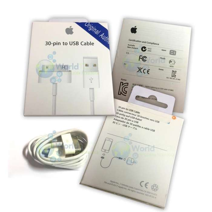 Cable De Datos Usb Iphone 4 4g 4s Ipad 1 2 3 Ipod Original