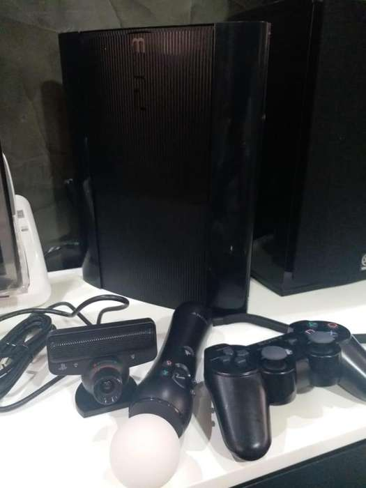 Flamante Play Station 3 Full Accesorios