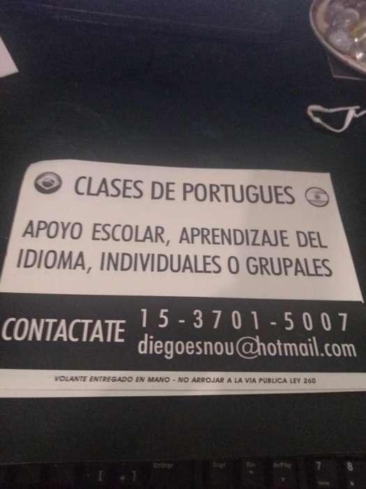 Clases de Portugués, ingles y catalán.