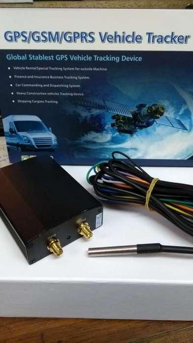 GPS vehicular 318 con buzzer y sensor temperatura