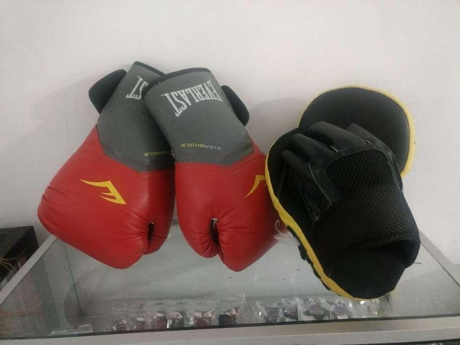Guantes de Boxeo Y Manoplas