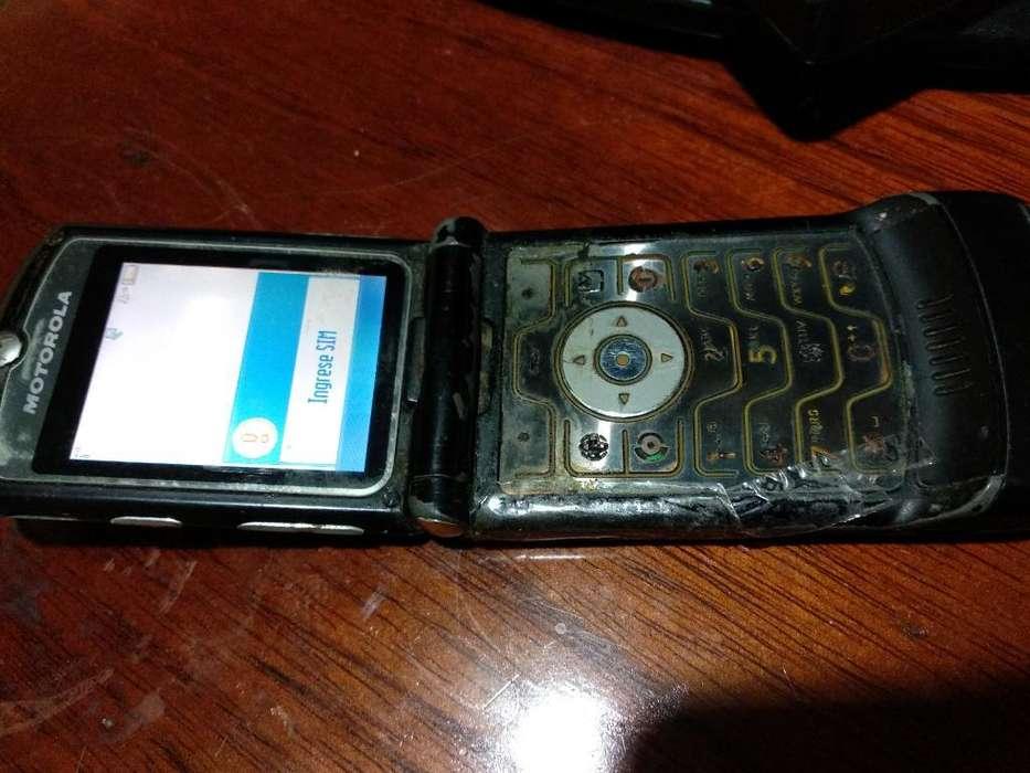 Ponte Once <strong>celular</strong> Motorola Reliquia :-)