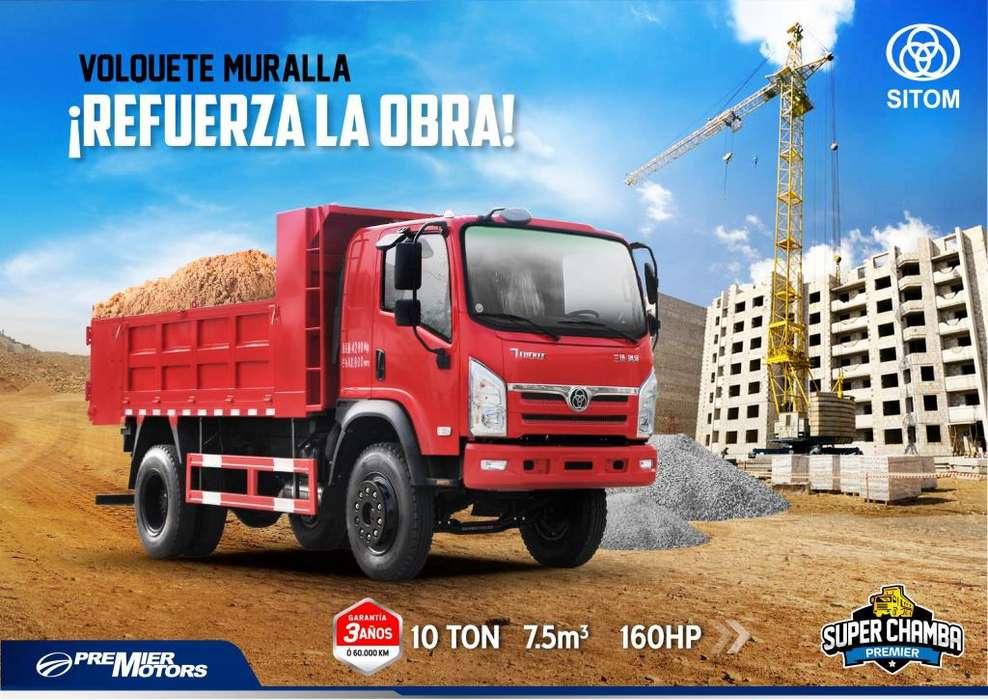 Volquete 7.5m3 Modelo 2019 160 HP Tolva
