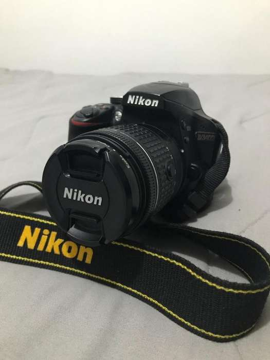Nikon D3400 Lente 18 55 Vr.