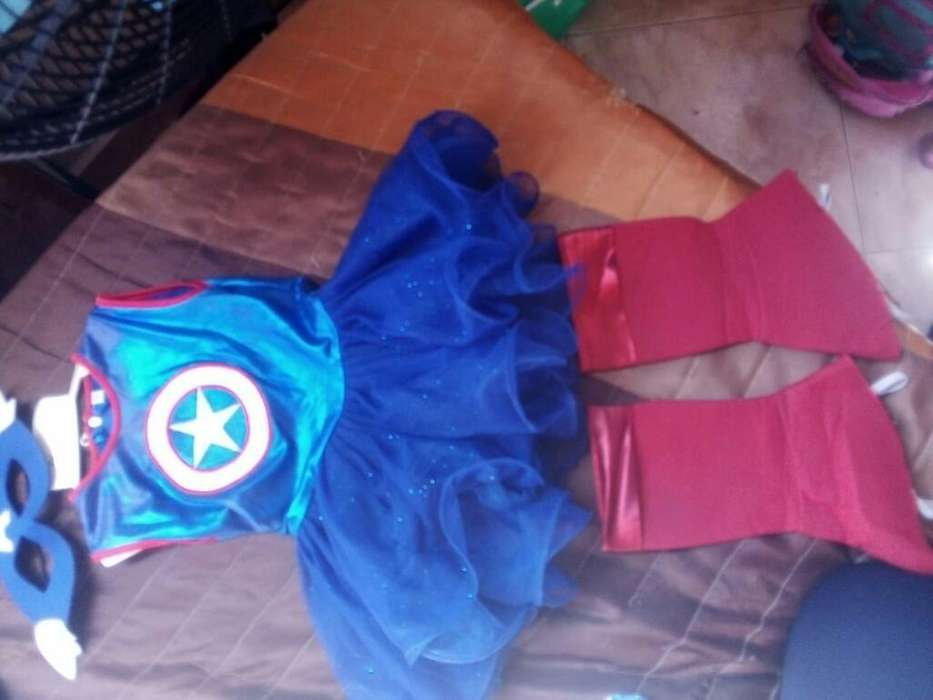 Vendo Disfraz de Capitan America