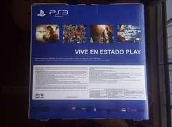 PS3 SUPER SLIM 500GB POCO USO , FLASHEADA CON 35 JUEGOS INSTALADOS, TIENDATOPMK