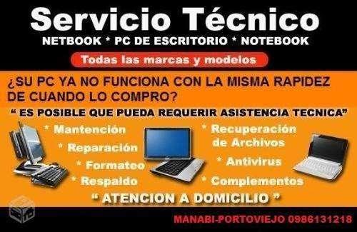SERVICIO TÉCNICO Y ELECTRÓNICO DE PC Y LAPTOS GARANTIZADOS ..