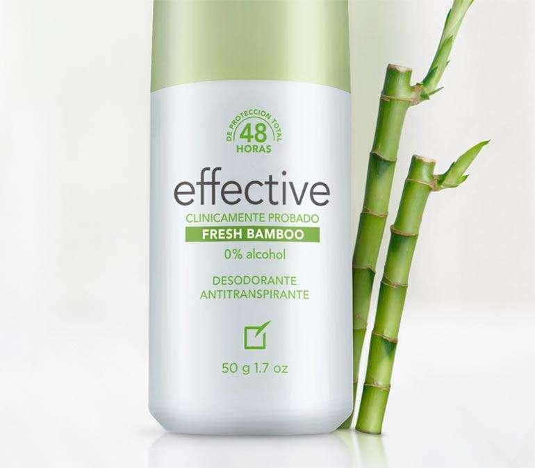 UNIQUE - Desodorante Effective Fresh Bambo 50g