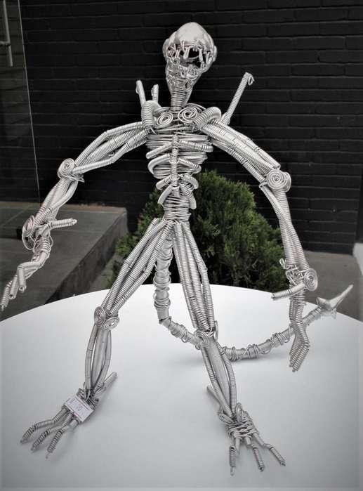 Esculturas En Alambre