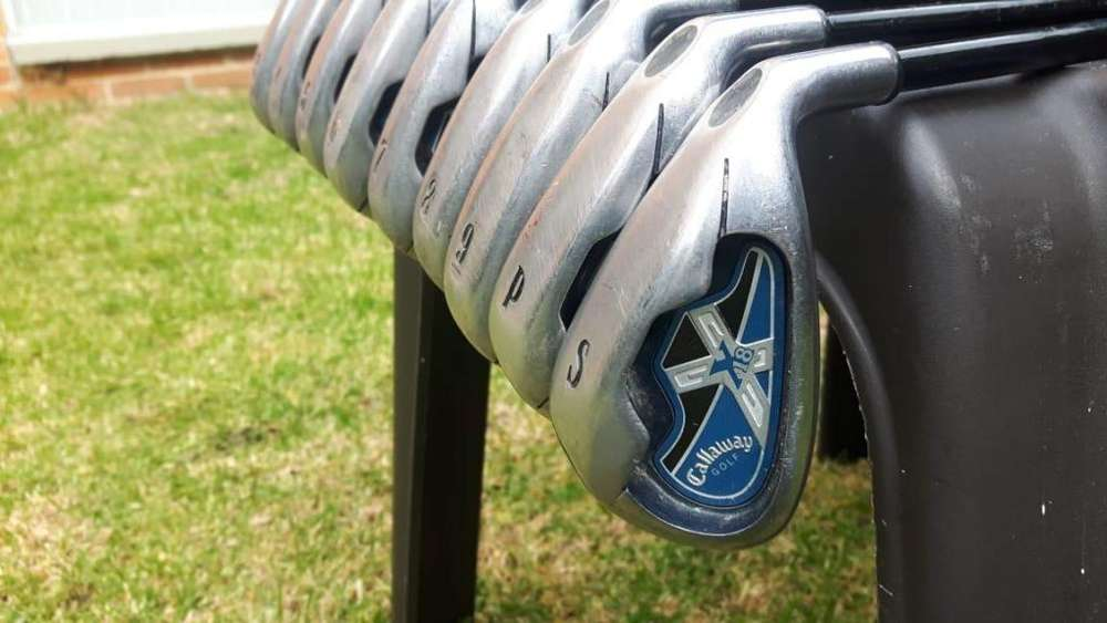 Palos de Golf, Set de Hierros Callaway X-18