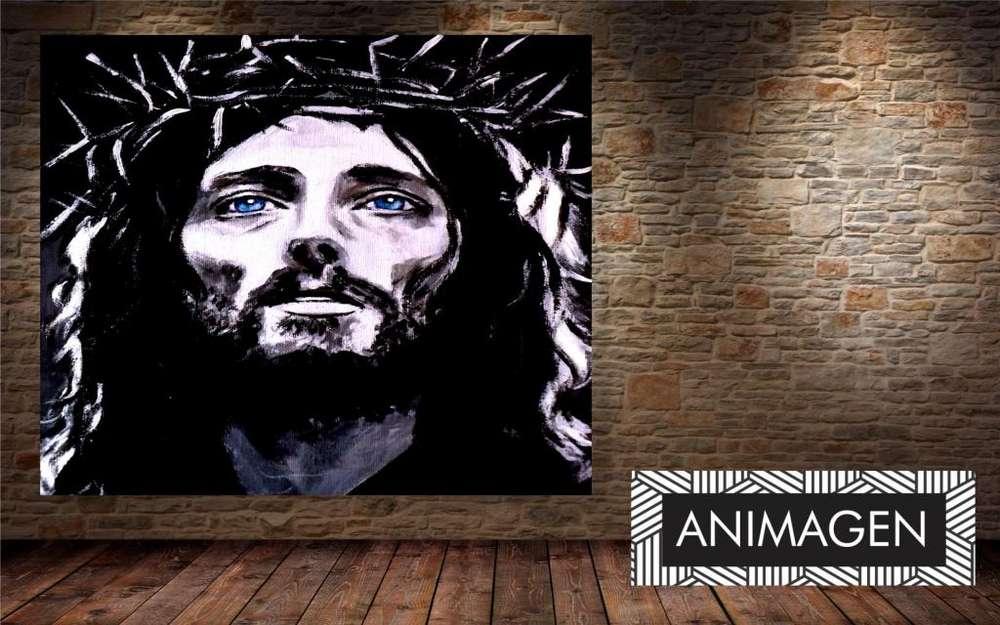 Cuadro decorativo de jesus 4519