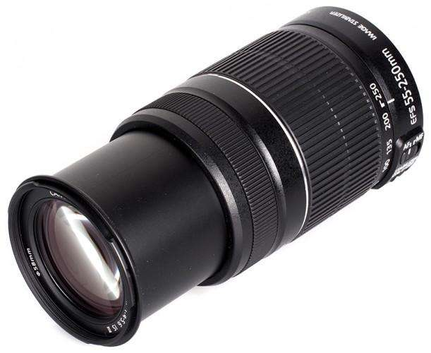 Vendo Lente CANON AF 55 250mm f/45.6 IS II VERSION STM nuevo garantia