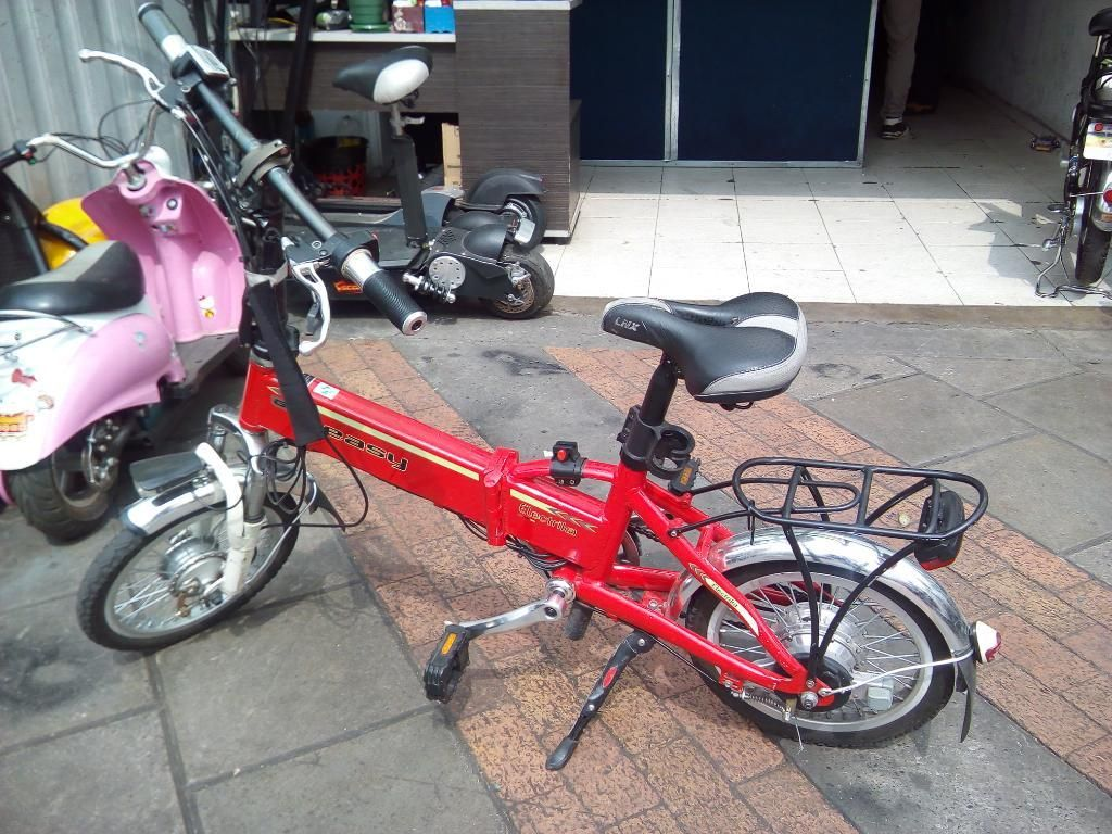 Bicicleta Eléctrica Plegable 250w