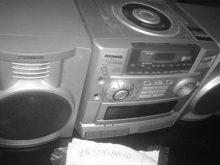 Radiogrador con Cd Aiwa