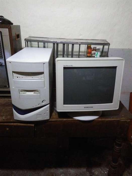 Computador Monitor Crt