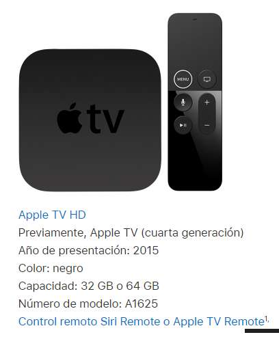 Apple TV A1625 64Gb