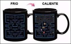 Taza Magica Termosensible Pacman Cambia Color Retro Regalo