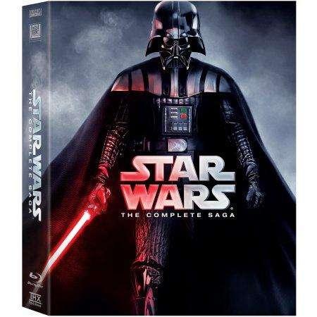 Star Wars Complete Saga Bluray