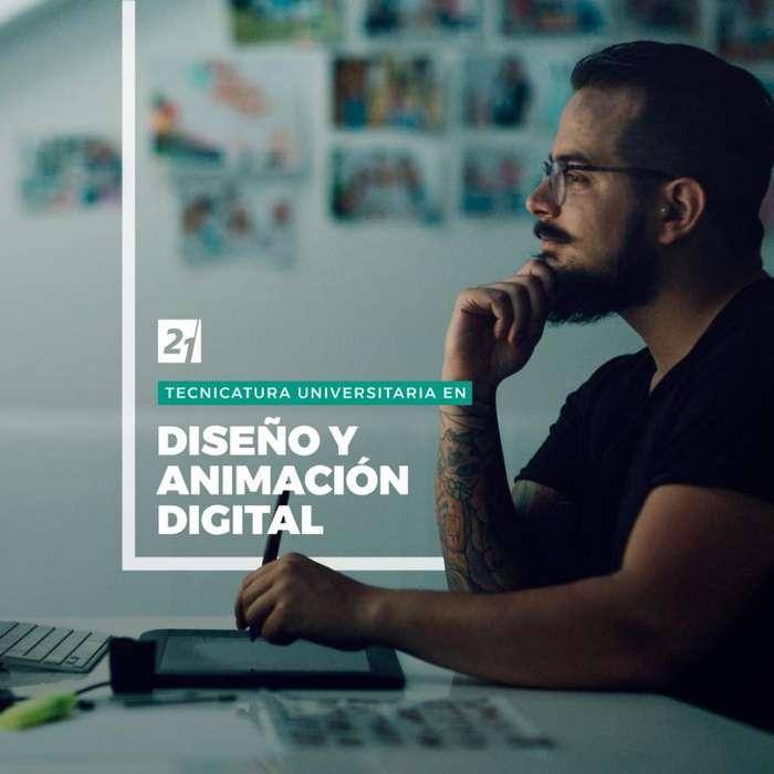 Tecnicatura Universitaria en Diseño y Animación Digital - Universidad Siglo 21 Gualeguaychú