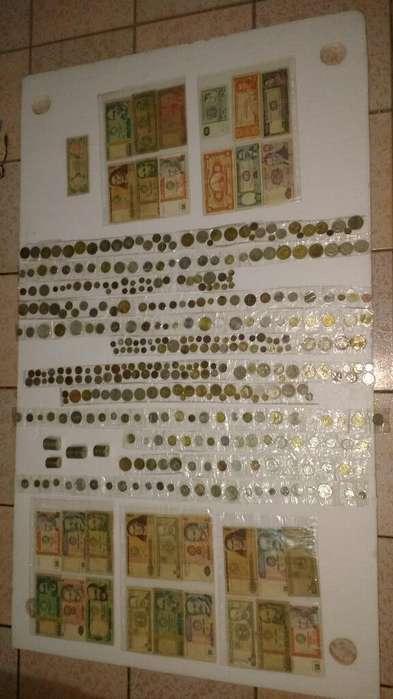 Cambio con Celuar o Vendo Colección de mas de 400 monedas antiguas COLECCIONABLES