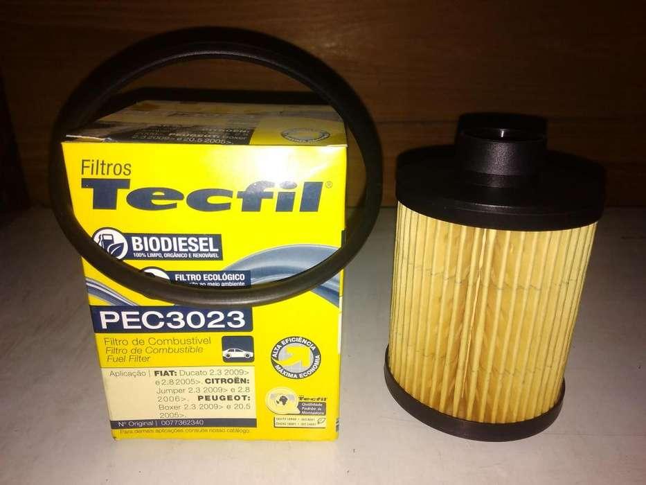Filtro Gasoil Tecfil Pec3023 mann Pu723x Para Ducato Boxer
