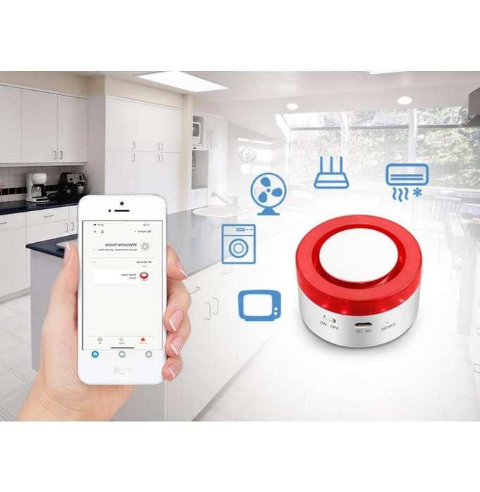Alarma Wifi Tuya Smart Para Casas, Locales, Oficinas