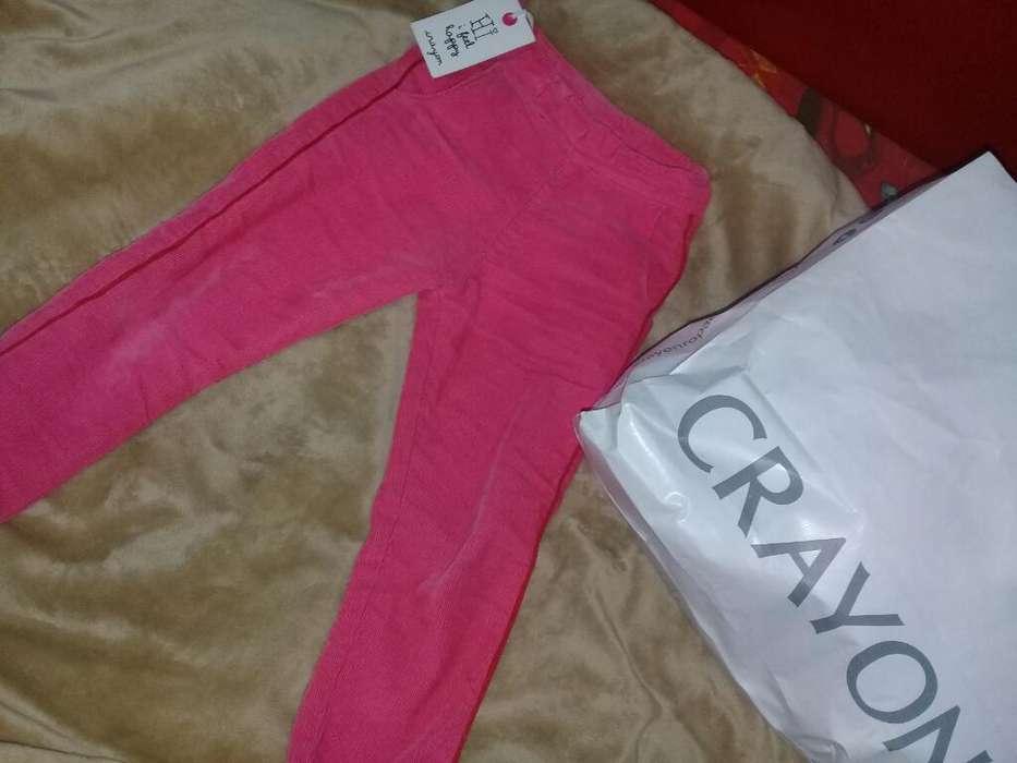Pantalón Corderoy de Niña Talle 3