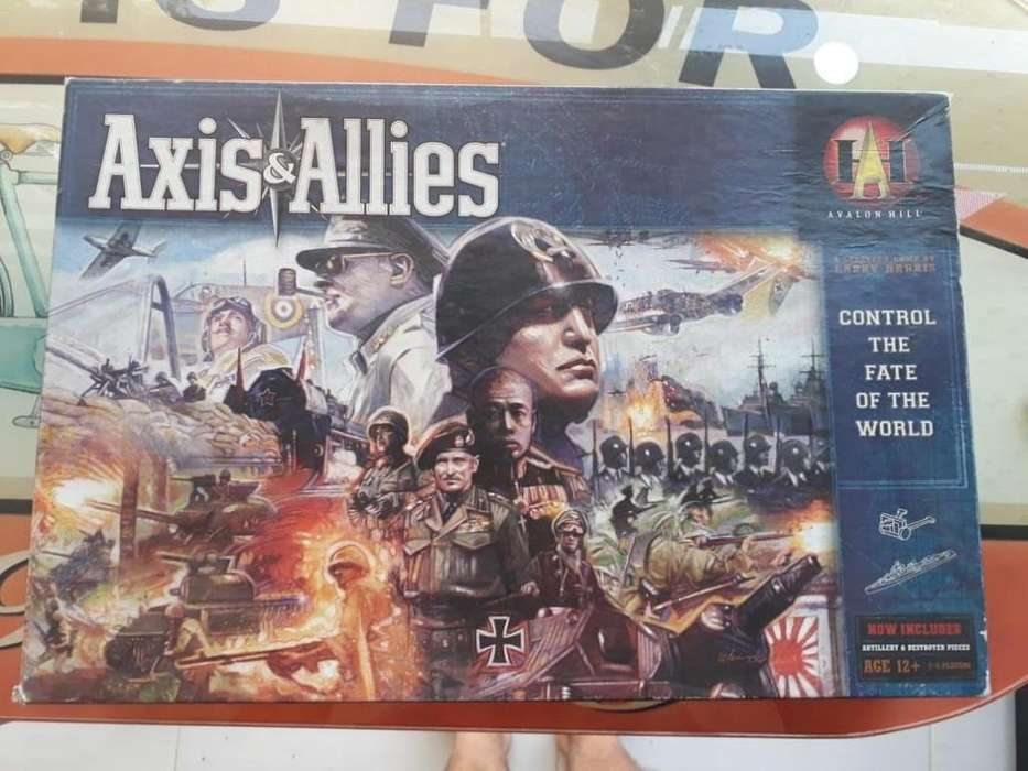Axis & Allies Revised Edition (20th Anniversary)