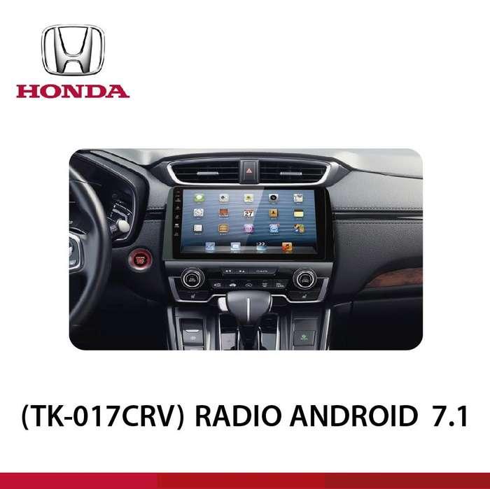 RADIO ANDROID 10'' PULGADAS CRV