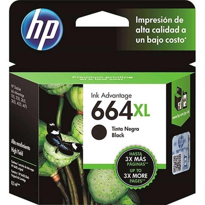 Cartucho HP 664 XL