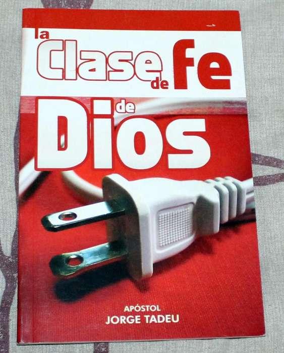 Libro La Clase de Fe de Dios Jorge Tadeu