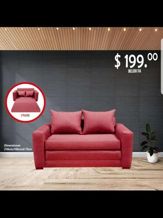 Sofa Cama 2plzs