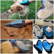 Guante Relajante Quita Pelusas para Mascotas