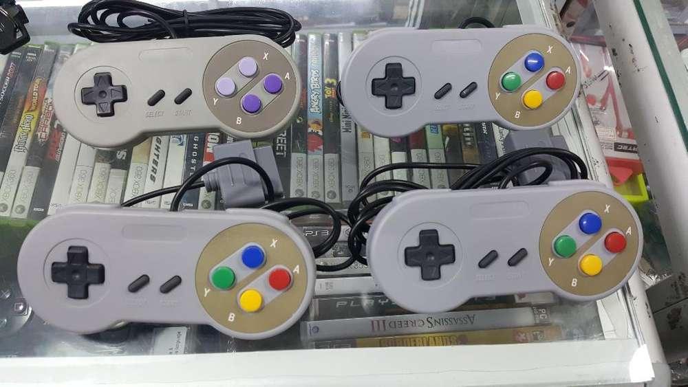 Controles Super Nintendo Nuevos