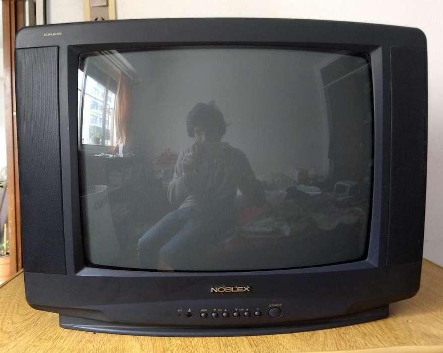 TV 212 Noblex con control y rack