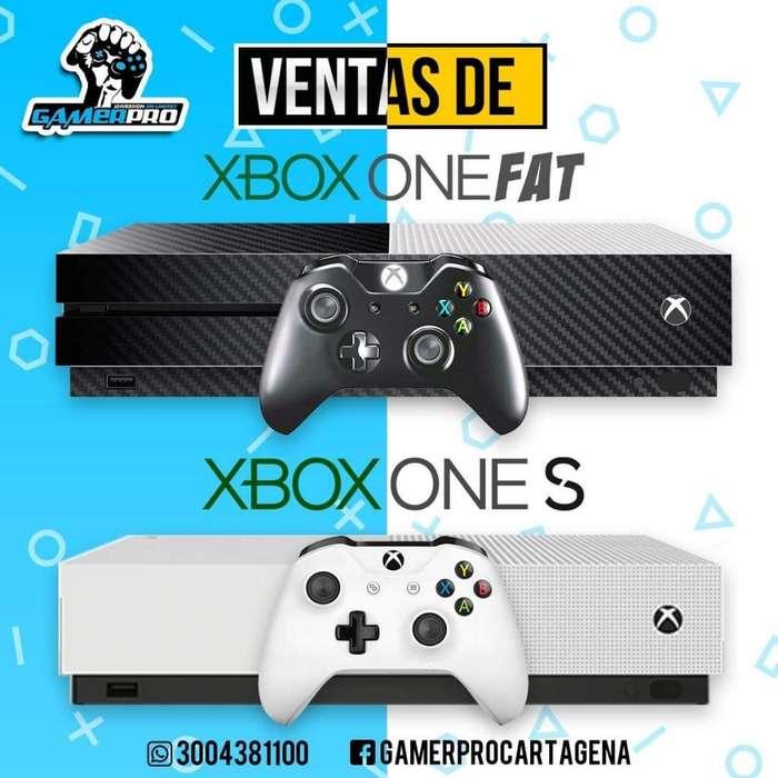 Contamos con Xbox One S Y Fat de Segunda