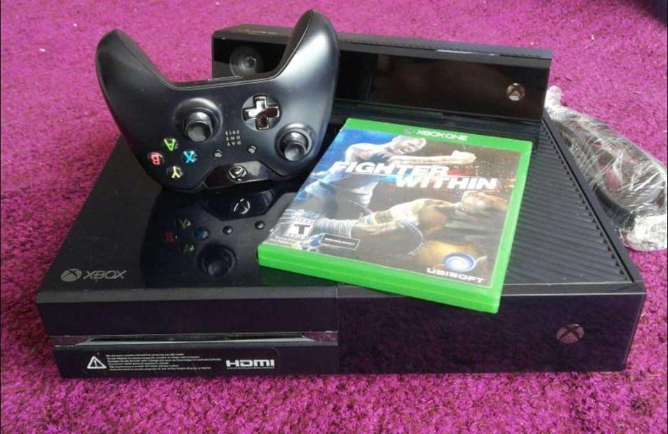 Xbox one 500Gb Kinect 1 Juego Cables 650mil