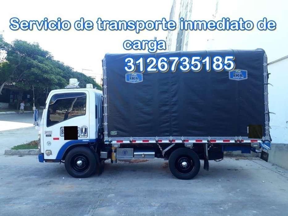 Servicio de Transporte Inmediatos de Cargas Y Mudanzas Locales Y Nacionales