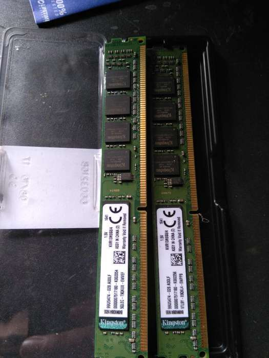 Rams 2x4 Gb Ddr3