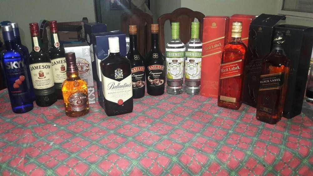 Bebidas Alcohólicas Varias