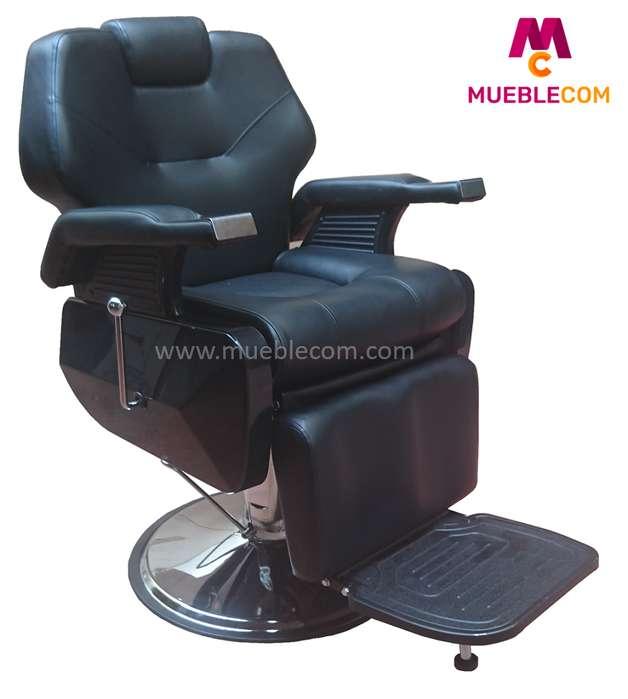 Silla <strong>sillon</strong> Peluqueria Barberia Reclinable Corte Barbero Nuevo GRAN Master Precio Incluido IVA